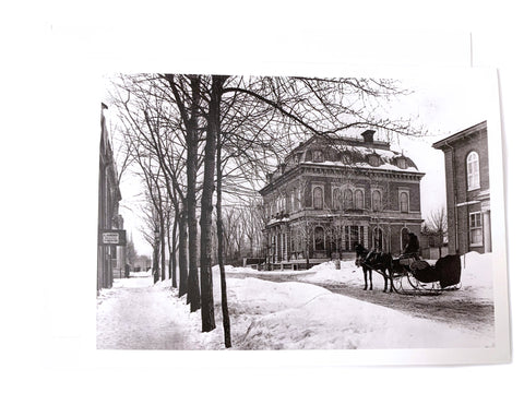 Notman Greeting Card: St. James Club, Dorchester Street