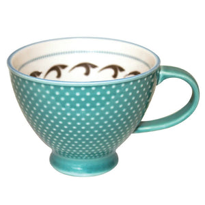 Porcelain Art Mug-Killer Whale by Trevor Angus
