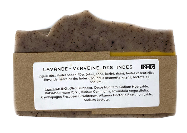 Les Racines Sauvages natural lavender and verbena soap