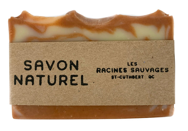 Les Racines Sauvages natural patchouli, cinnamon and ylang ylang soap