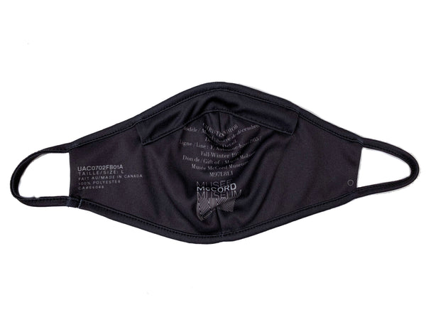 Dior Inspired McCord Reusable Face Mask; Black Ruffles
