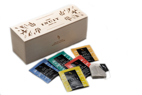 Inuit Herbal Tea Wooden Boxset