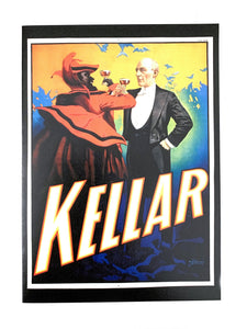 Illusions :  Kellar  Greeting Card