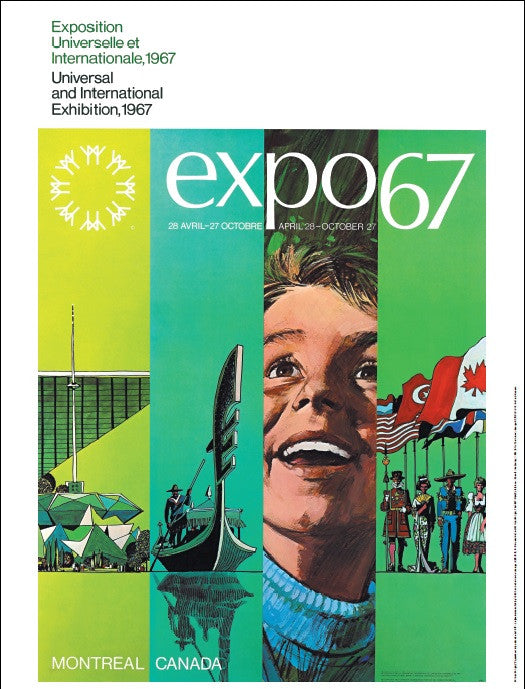 Poster, Expo 67