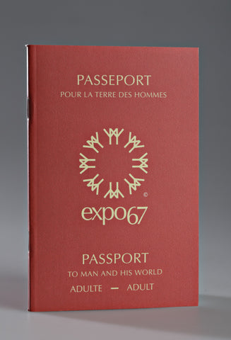 Notebook, Expo 67 Passport
