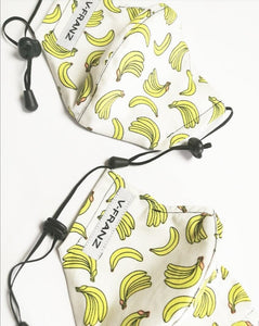 Banana Print Kids Mask