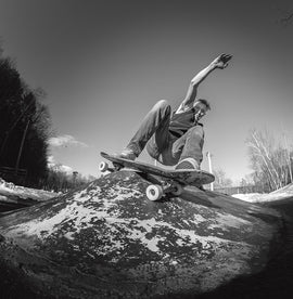Steve Stengel Bert 180 Over the DIY, Ludlow Vermont