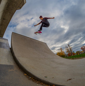 Ollie Fakie Lynch Family Skatepark