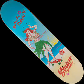Strive Skateboards Alpine Hemp Collab Skateboard Deck