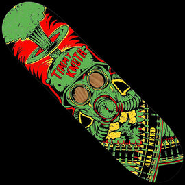 All I Need Knuth Gas Mask Skateboard Deck 8.3