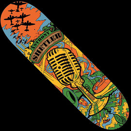 All I Need Shelter Mic Skateboard Deck 8.0
