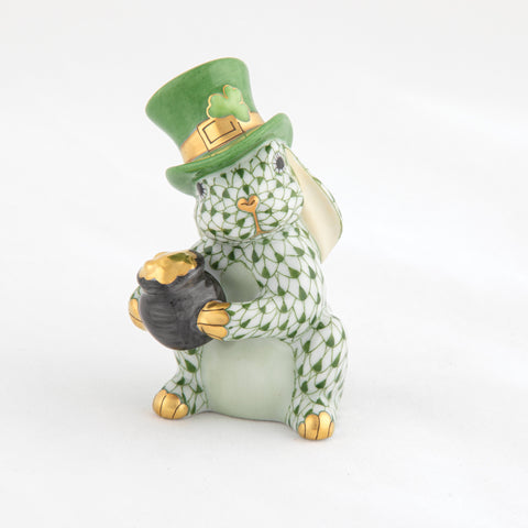 Herend Leprechaun Bunny, Dark Green