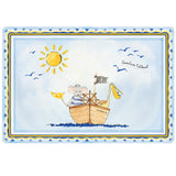 "Baby Cie Adventure Awaits! ""L'Aventure T'Attend"" Placemat"
