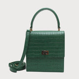 Neely & Chloe  No. 19 The Mini Lady Bag Croc Embossed