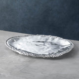 Beatriz Ball ORGANIC PEARL Nova Triangle Platter, LARGE
