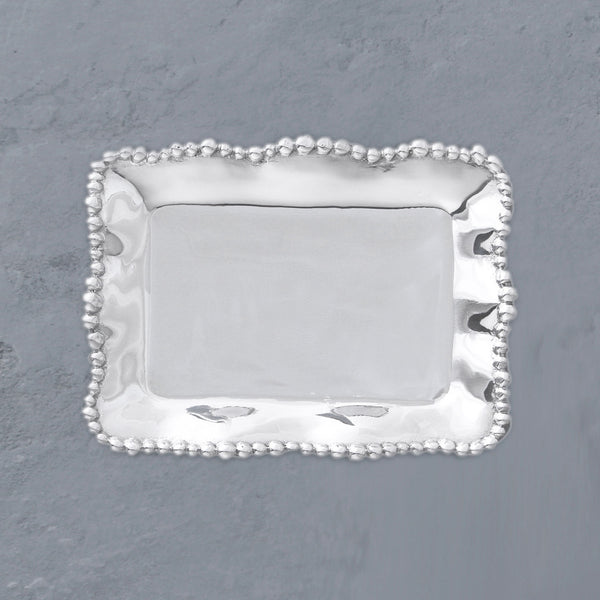 Beatriz Ball GIFTABLES Organic Pearl Rectangular Tray