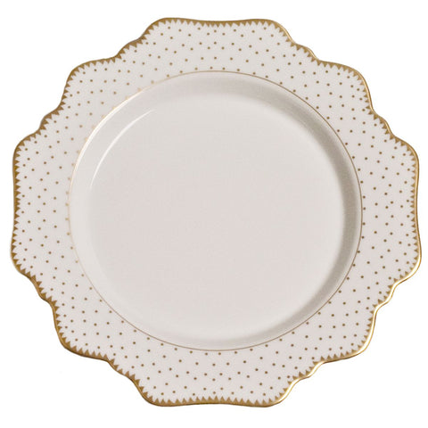 Anna Weatherley Simply Anna Antique Polka with Gold Salad