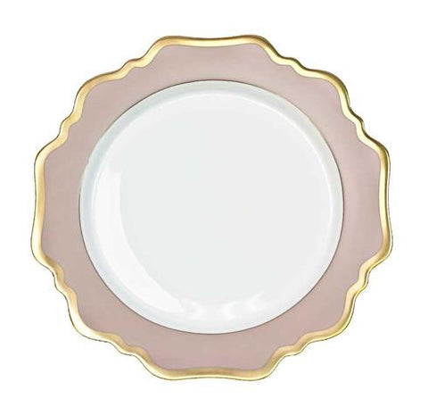Anna Weatherley Anna's Palette Dusty Rose Salad Plate