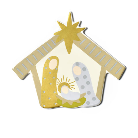 Happy Everything Neutral Nativity Attachment