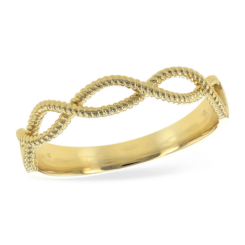 14 KT Yellow Gold Rope Band