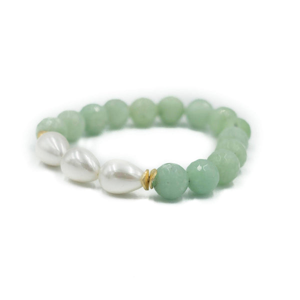 Hazen & Co. Arden Bracelet, Sea Foam Green