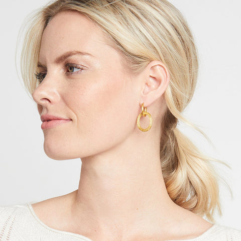 Julie Vos Aspen 2-in-1 Earring
