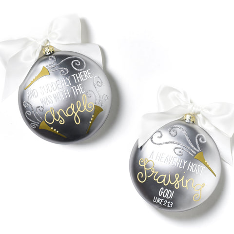 Coton Colors Luke 2:13 Glass Ornament