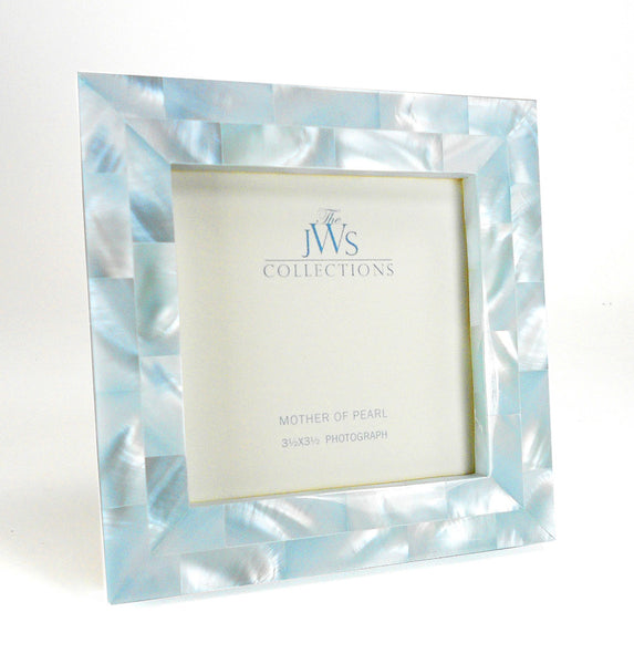 Mother of Pearl Frame, Blue