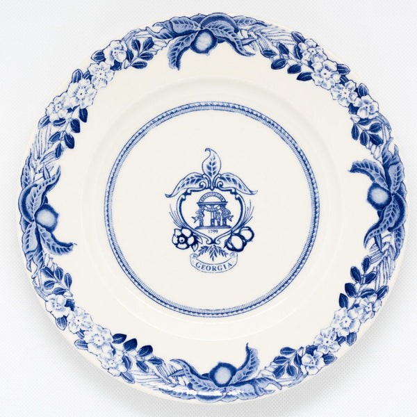 Georgia Plate Blue Salad Plate