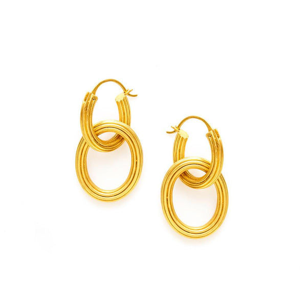 Julie Vos Byzantine 2 in 1 Earring