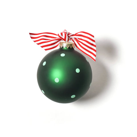 Coton Colors My 1st Christmas Boy Glass Ornament