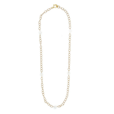 Hazen & Co. Carnation Necklace, Long