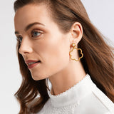Julie Vos Colette Statement Earring, Pearl