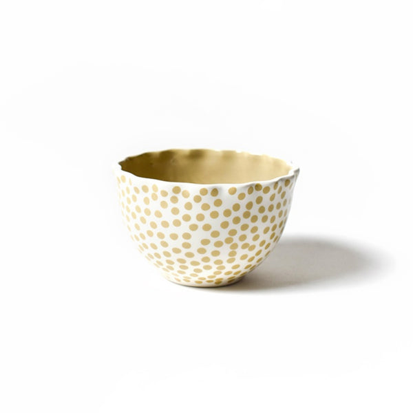Coton Colors Small Dot Ruffle Bowl