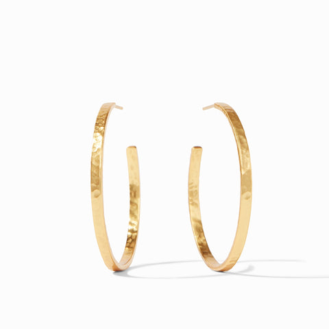 Julie Vos Crescent Hoop Earring