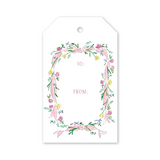 "Dixie Design Collective ""Pink Ribbon"" Gift Tag"