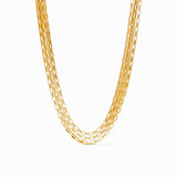 Julie Vos Geneva Triple Strand Necklace