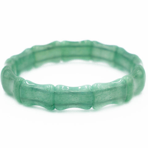 Hazen & Co. Bamboo Bangle, Jade