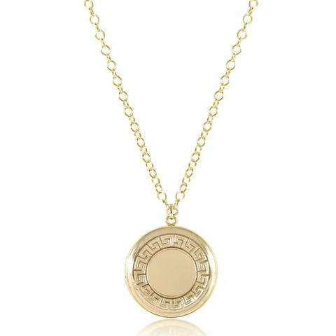 enewton Cherish Necklace Medium Locket 18