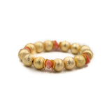 Hazen & Co. Madison Bracelet, Coral Chips