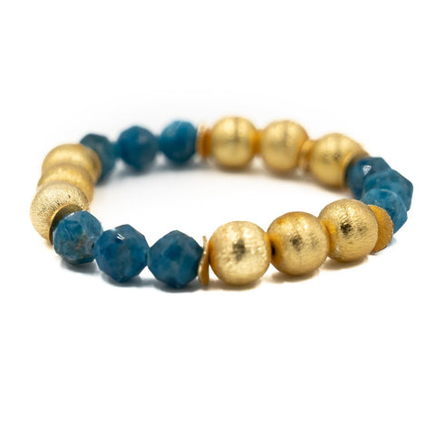 Hazen & Co. Molly Bracelet, Apatite