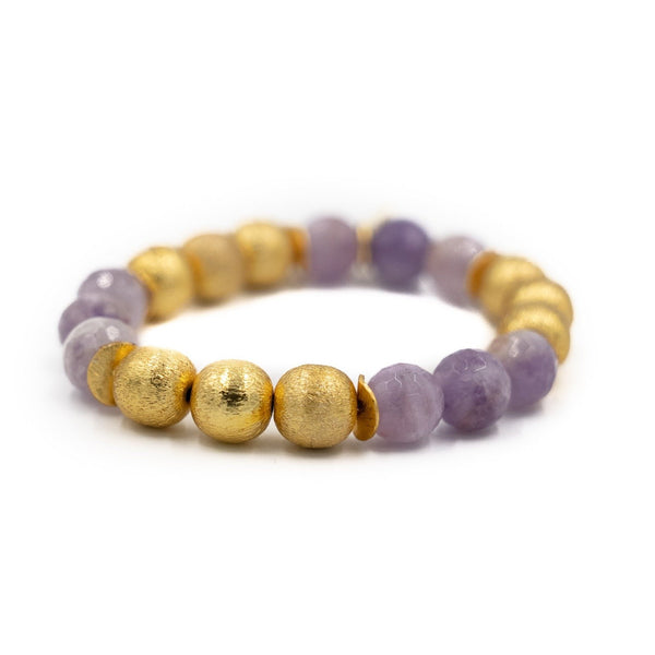 Hazen & Co. Molly Bracelet, Lavender