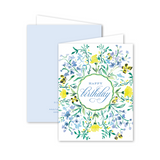 "Dixie Design Collective ""Garden Scallop"" Birthday Card"