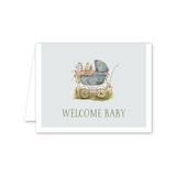"Dixie Design Collective ""Baby Carriage"" Card"