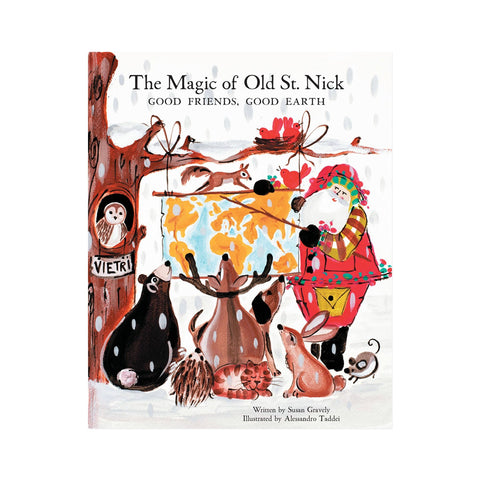 Vietri The Magic Of Old St. Nick Good Friends, Good Earth Book