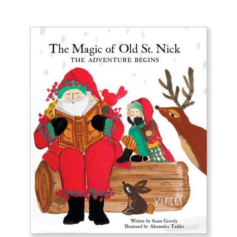 Vietri The Magic of Old St. Nick: The Adventure Begins Book