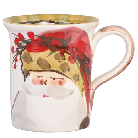 Vietri Old St. Nick Assorted Mug