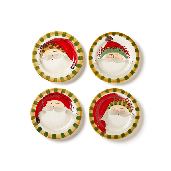 Vietri Old St. Nick Assorted Round Salad Plate