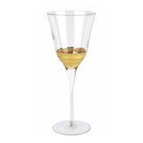Vietri Raffaello Wine Glass, Imprinted