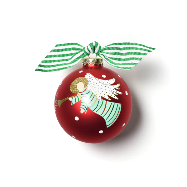 Coton Colors Hark the Herald Angels Glass Ornament